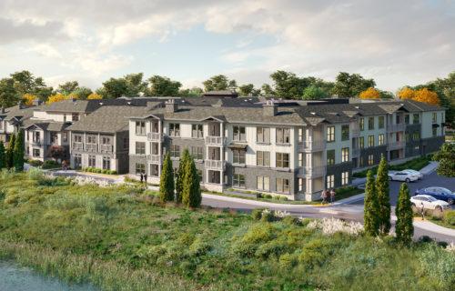 alexan downtown danville exterior - Danville Apartments Designed for Destressing