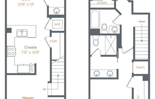 Danville townhouse luxury apartments