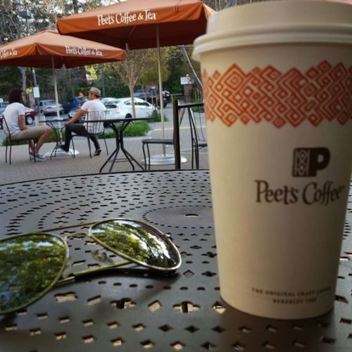 Refresh and Recharge at Peet's Coffee